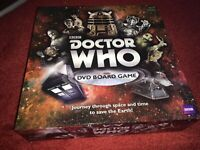 BBC DOCTOR WHO DVD BOARD GAME NEW UNSEALED