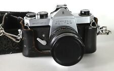Honeywell Pentax Spotmatic film camera w/28mm f2.8 w/Case