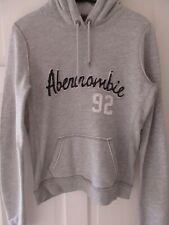 Abercrombie & Fitch Fleece Hoodie / Top / Jumper-VGC Womens / Girls Size L Grey