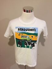 Vintage 1990 Ben and Jerry's Vermont's Finest T Shirt Size Large Made In USA