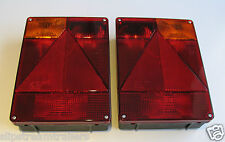 2 RADEX 6800 REAR TRAILER LIGHT LAMP FIT TO INDESPENSION IFOR WILLIAMS BRENDRUP