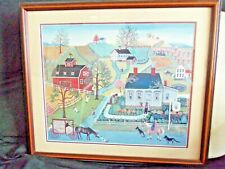"LINDA NELSON STOCKS ORIGINAL! Signed 2X's ""The Herb Cottage"" 1983; 1706/1950"