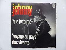 JOHNNY HALLYDAY Que je t aime  b 370 599 f  cf Rabats derriere