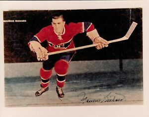 MAURICE RICHARD AUTOGRAPH 8x10 PHOTO SIGNED AUTO CANADIENS DIED 2000 HOF ROCKET