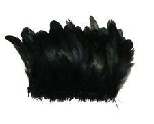 100 Pcs ROOSTER Coque Fringe - BLACK 4-6