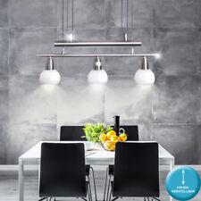 Decken Hänge Leuchte höhenverstellbar Küchen Ess Zimmer Pendel Lampe Glas Kugeln