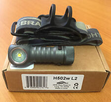 Zebralight H502w-2 H502w L2 AA Battery Flood Headlamp Neutral White Head Torch
