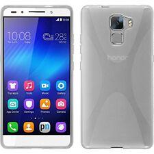 Huawei honor 7 TPU funda cover X-style transparente protector de pantalla