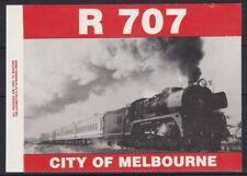 Auc1053) Australia Cinderellas R707 City of Melbourne Steam Train self adhesive