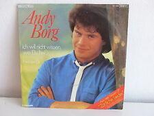 ANDY BORG Ich will nicht wissen .. 1C006 1539717