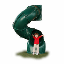 Swing-N-Slide 5-foot Green Turbo Tube Slide Out Door Kids Backyard Lawn Home NEW