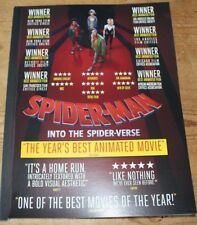 FYC SPIDER-MAN INTO THE SPIDER-VERSE Script Screenplay  FOR YOUR CONSIDERATION