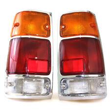 88 - 02 ISUZU TF TFR RODEO VAUXHALL BRAVA Truck Pick-up CHROME TAIL LIGHT PAIR