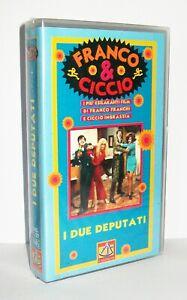 FRANCO & CICCIO - I DUE DEPUTATI - DI GIANNI GRIMALDI - 1969 - VHS SIGILLATA