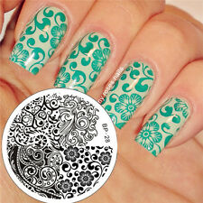 Nail Art Stamping Schablonen Stempel Template Stamp Image Plate BORN PRETTY BP28