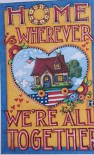 Mary Engelbreit Artwork-Home Is Wherever-Handmade Magnets
