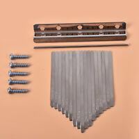 Kalimba Piano Bridge Saddle 17 Keys Set Kit For Kalimba DIY Replacement Pa cr.M!