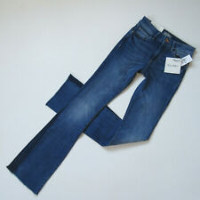 NWT DL1961 Bridget in Newbury Inset Boot Instasculpt Stretch Jeans 24 x 33