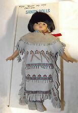 Princess Bright Sky Apache Indian Doll Sandy Dolls Limited Edition #374/3500 New