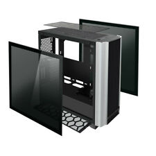 Case Pc Gaming Middle Tower Aigo Darwin 2 Porte Usb 3.0 Pannelli In Vetro No Psu