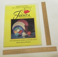The Collector's Encyclopedia of FIESTA - HARLEQUIN - RIVIERA &- illustrated BOOK
