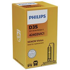 Philips Xenon Vision 42403VIC1 Remplacement D3S Xenon HID Ampoule Simple