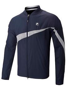 Fila Tennis / Fashion Mens Shell Lined Vent Jacket - RRP£70 - SMALL LARGE XL -