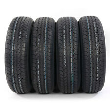 Set of 4 ST205/75R15 Trailer Tires 8 PLY RATED 205/75R15 New 2057515