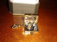 NEW JUICY COUTURE RECORD PLAYER CHARM FOR BRACELET NECKLACE KEYCHAIN
