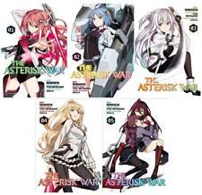 Asterisk War MANGA Series Collection Set 1-5 Paperback by Yuu Miyazaki Brand New