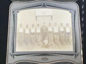 1920's-30's Basketball Photo-Wayne State University? Genesee County Post Office?