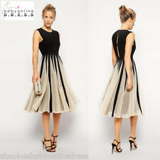 Black Short Cotton Women Casual Cocktail Dress Evening Homecoming Party Dresses