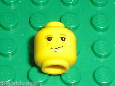 Tete personnage LEGO HARRY POTTER minifig head RON WEASLEY / Set 4730 4708 4709