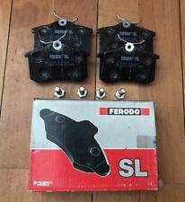 FERODO 4 PLAQUETTES DE FREINS ARRIERE NEUF FSL541 PEUGEOT 405, VW GOLF,  @ N5074