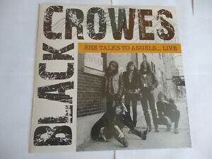 The Black Crowes - She talks to angels... Live - Vinyle - Neuf - Rare