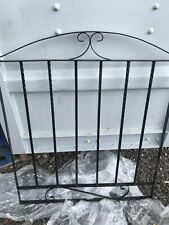 Wrought Iron Metal Arched Scroll Tall Gate 86 Cm X 106 cm garden as Fence Panel