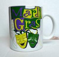 Mardi Gras Coffee Tea Mug New Orleans Souvenir Cup