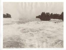 Rapids above the Falls Niagara Falls William Notman c1890 Albumen Print Photo
