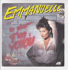 """EMMANUELLE Vinyle 45 tours SP 7"""" CE N'EST QU'UN VOYOU - AB HIT 887095 7 F Reduit"""