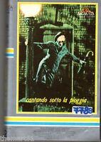 Cantando sotto la pioggia (1952) VHS 1a Ed. MGM Cult