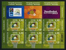 Slovenia 984 Sheet MNH Eurobasket 2013, Sports, Basketball