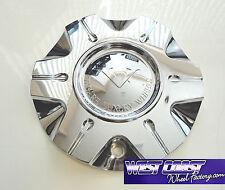 VAGARE V3 Bounce Chrome Wheel RIM Replacement Center Cap Cover PART#C-054-2