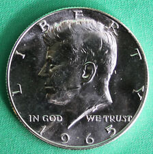 1965 SMS JFK Half Dollar 40% Silver Kennedy Coin from US Special Mint Set