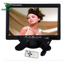 Car Styling 12-24V 7'' TFT LCD Touch Screen Car Headrest Display Monitor Reaview
