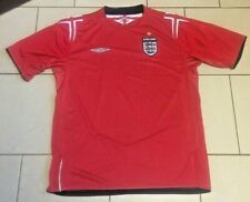 *** Vintage England Football Shirt 2004-2006 Umbro Official - Size Adult L ***