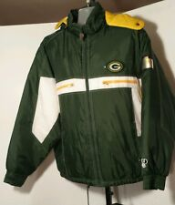 Green Bay Packers Pro Player Winter/Snow/Ski Hooded Jacket Adult Size 2XL