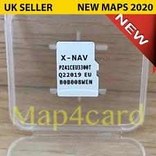 PEUGEOT 108 X-NAV XNAV X NAV navigation SAT Map Micro SD card 2020 - 2021