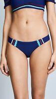 Red Carter 247684 Womens Hipster Bikini Bottom Swimwear Navy Size X-Small/ 4