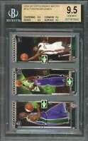 Bosh / Lebron James 2003-04 Topps Rookie Matrix #Fbj BGS 9.5 (9.5 9.5 9.5 9.5)