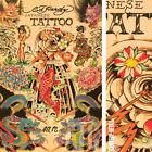 "24W""x36H"" JAPANESE TATTOO by ED HARDY - TATTOO ART CANVAS"